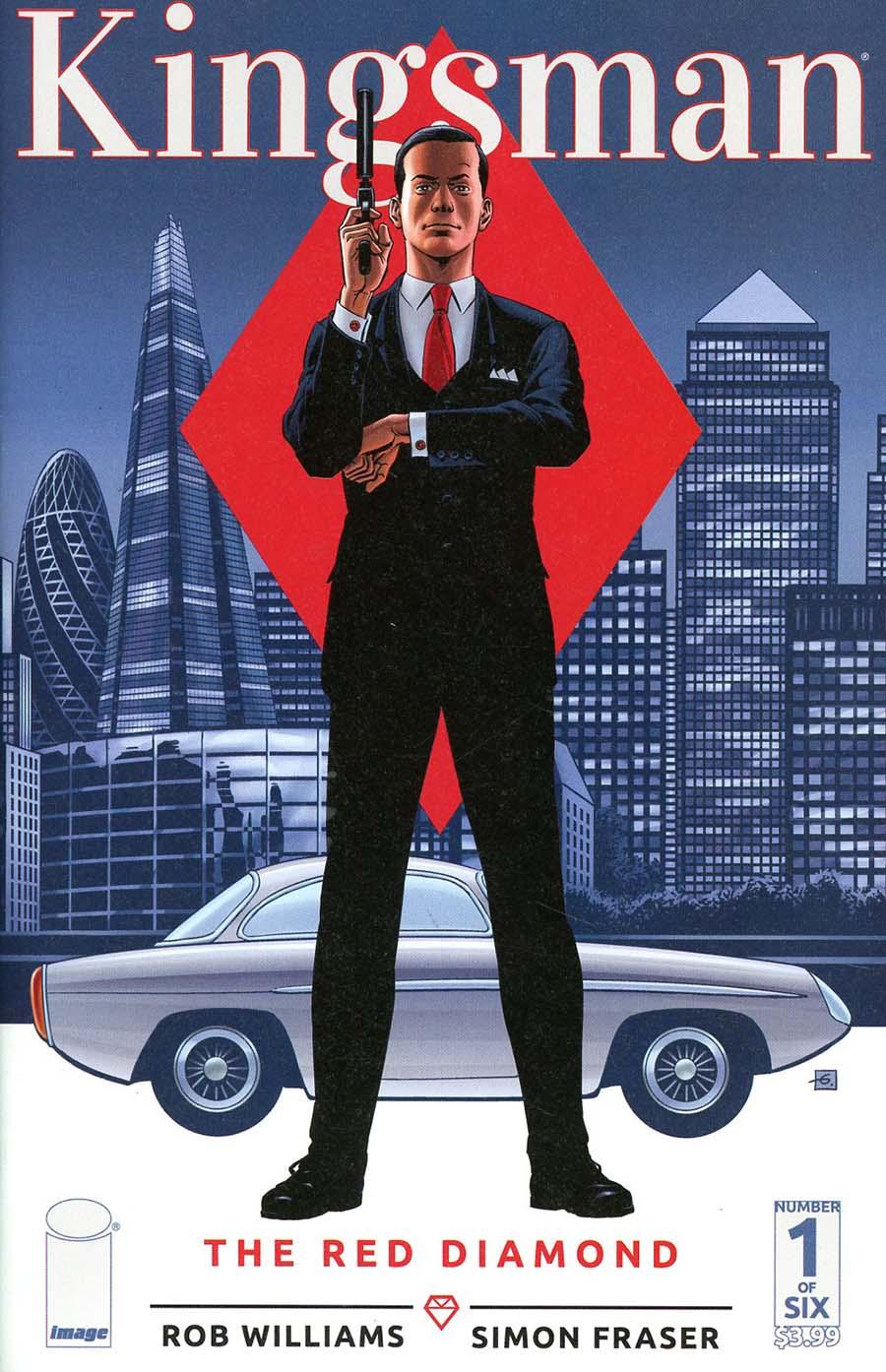 Kingsman Red Diamond #1 Cover C Variant Dave Gibbons Cover