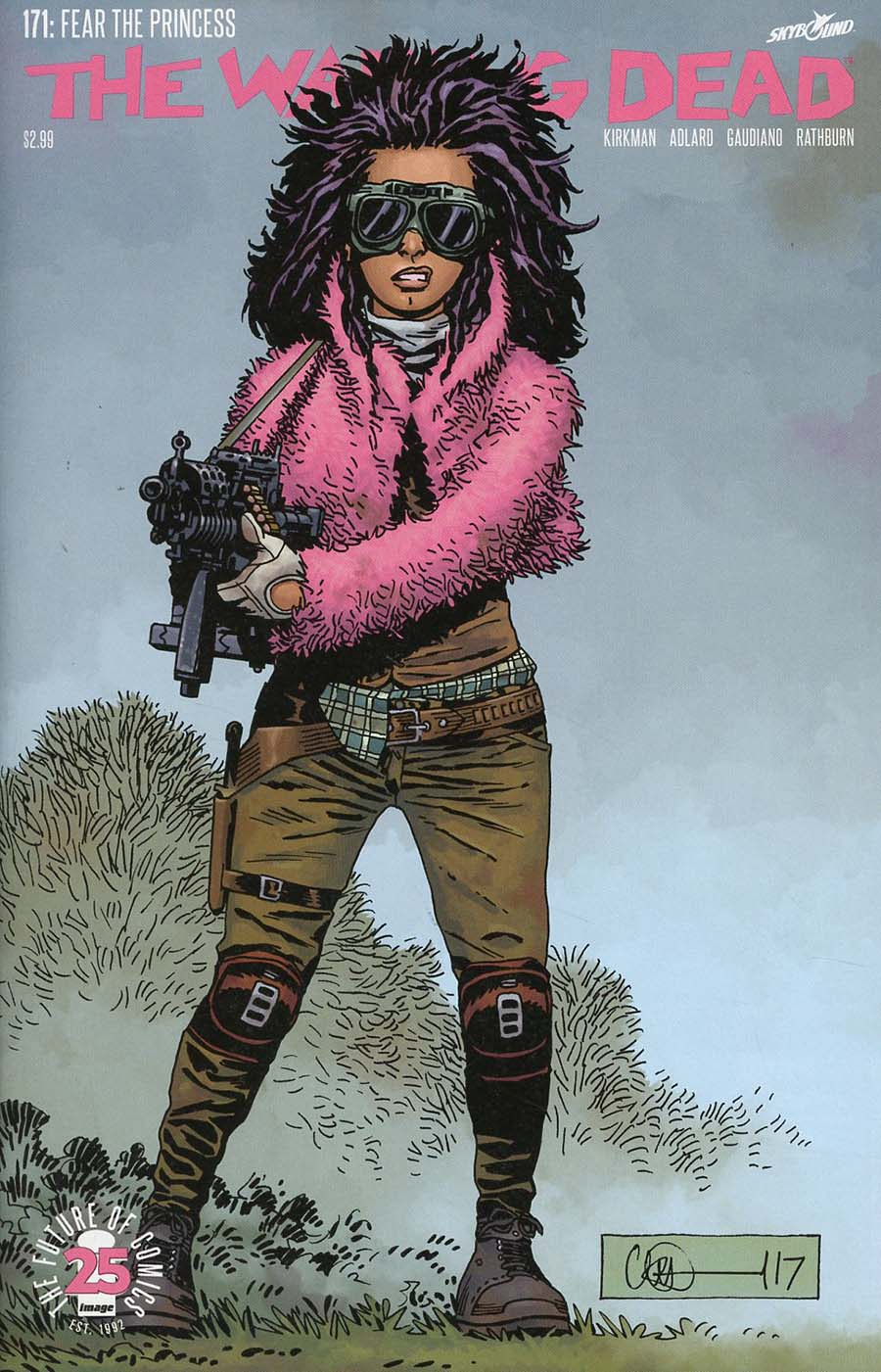 Walking Dead #171 Cover A Regular Charlie Adlard & Dave Stewart Cover