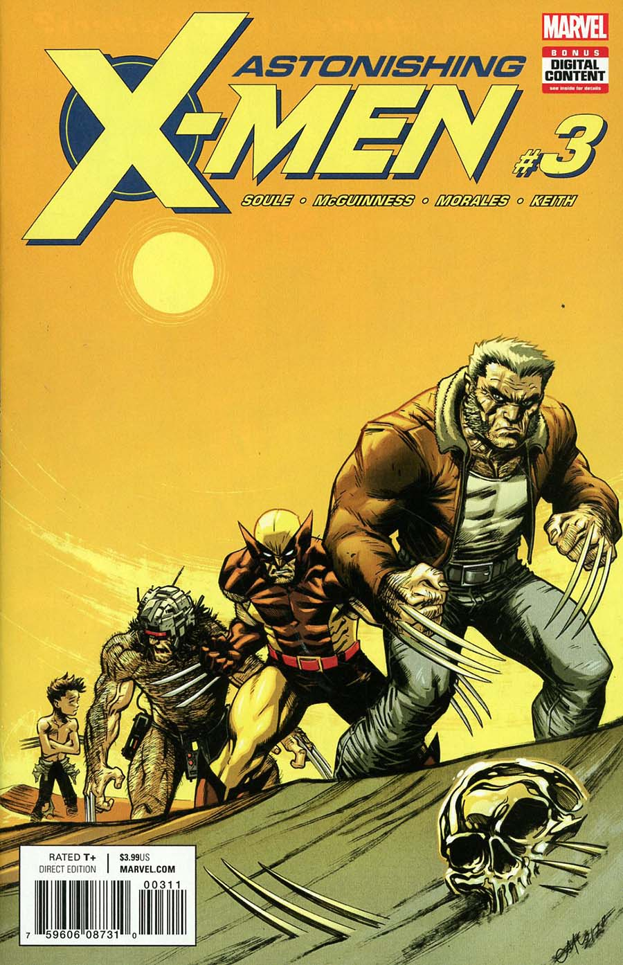 Astonishing X-Men Vol 4 #3 Cover A Regular Ed McGuinness Cover