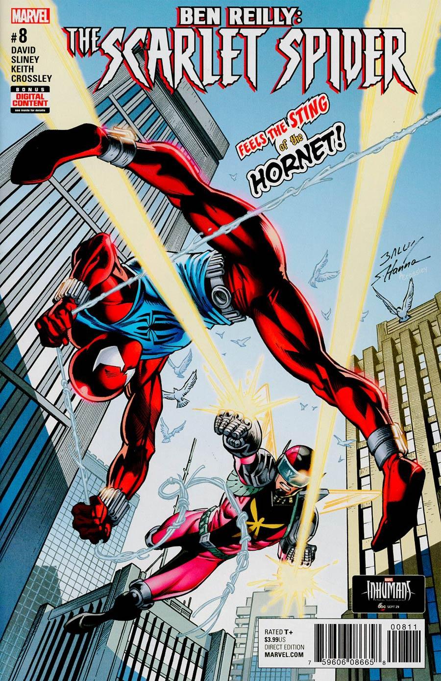 Ben Reilly The Scarlet Spider #8