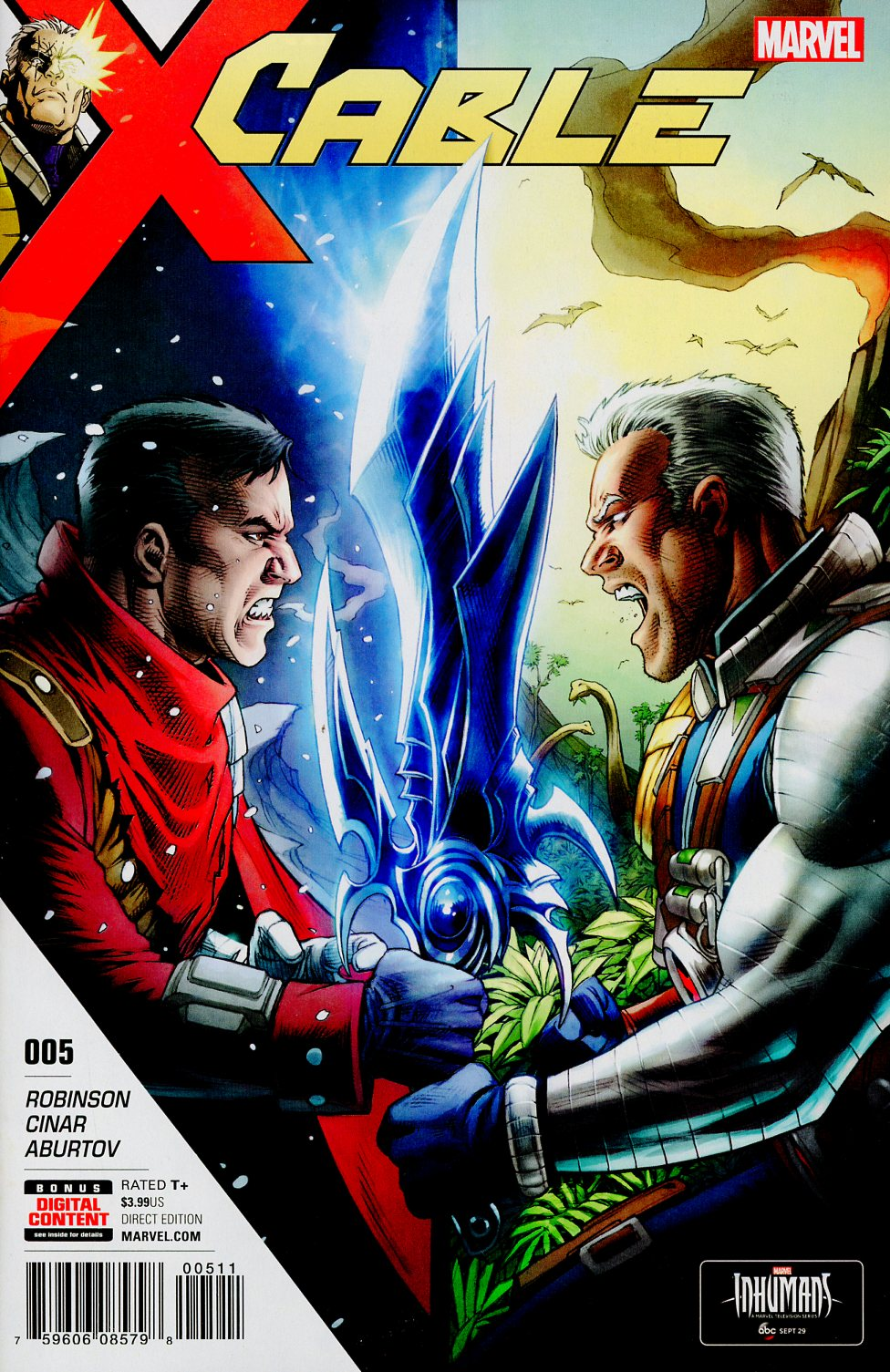 Cable Vol 3 #5 Cover A Regular Dale Keown Cover