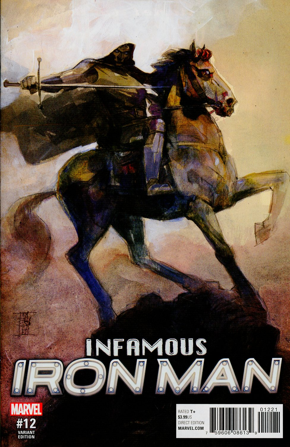 Infamous Iron Man #12 Cover B Variant Alex Maleev Cover