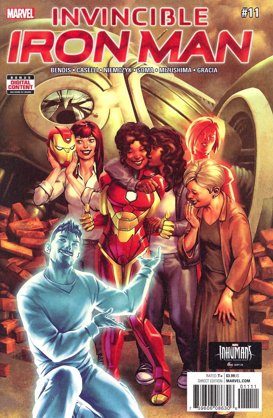 Invincible Iron Man Vol 3 #11 Cover A Regular Jesus Saiz Cover