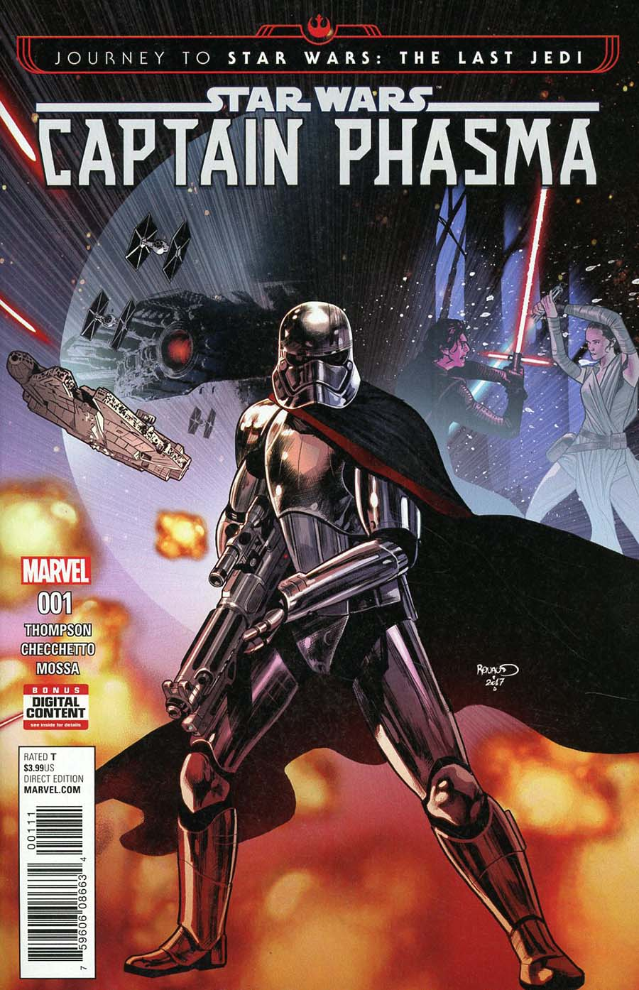 Journey To Star Wars The Last Jedi Captain Phasma #1 Cover A Regular Paul Renaud Cover