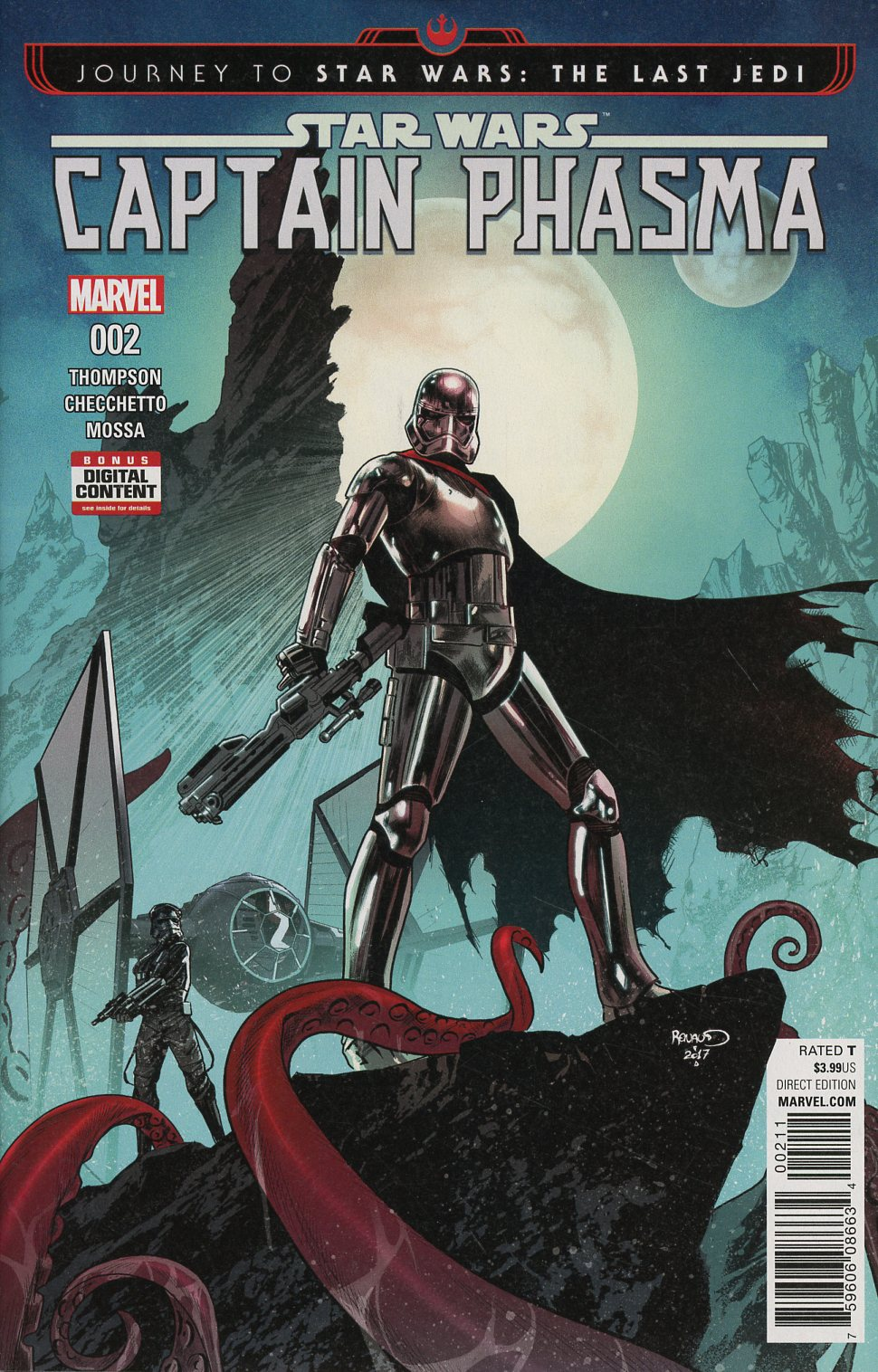 Journey To Star Wars The Last Jedi Captain Phasma #2 Cover A Regular Paul Renaud Cover