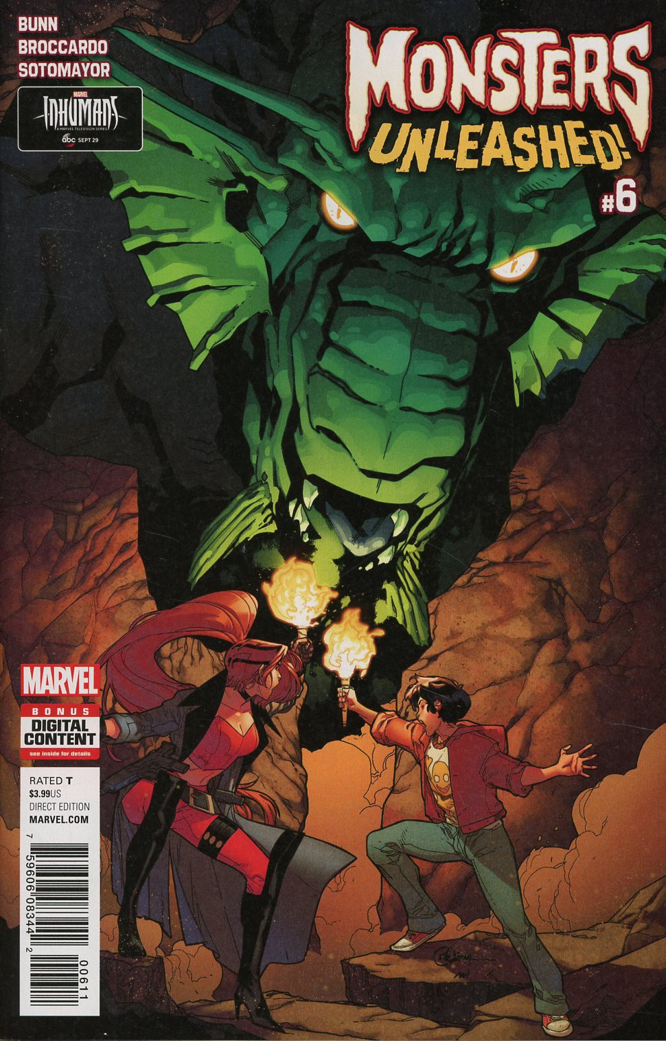 Monsters Unleashed Vol 2 #6 Cover A Regular RB Silva Cover