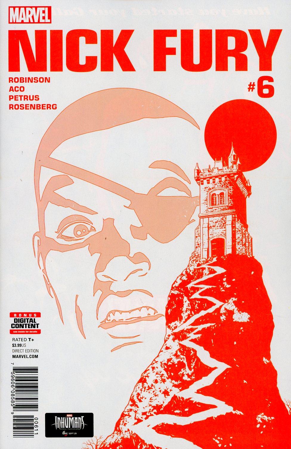 Nick Fury #6 Cover A Regular Aco Cover