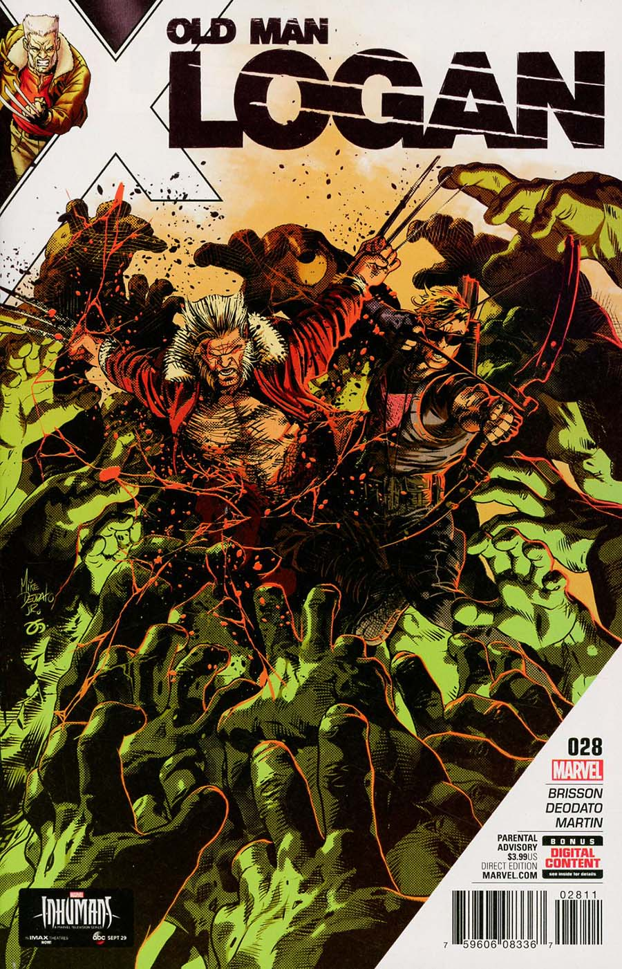 Old Man Logan Vol 2 #28 Cover A Regular Mike Deodato Jr Cover