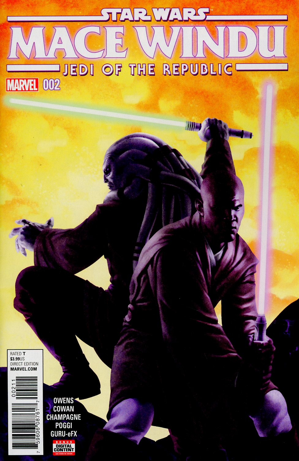 Star Wars Jedi Of The Republic Mace Windu #2 Cover A Regular Jesus Saiz Cover