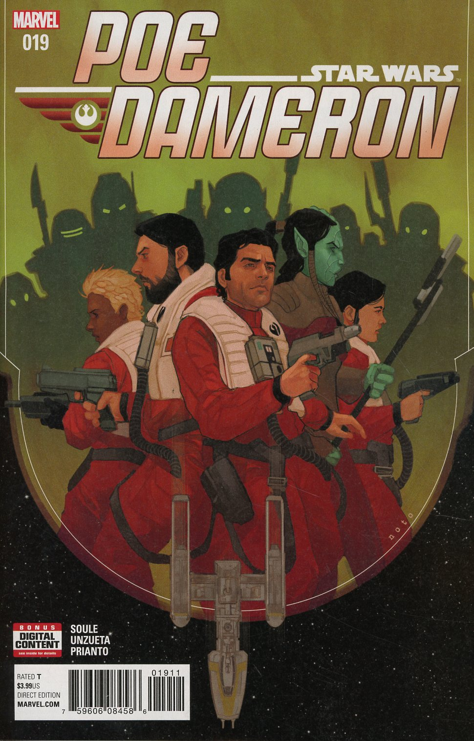 Star Wars Poe Dameron #19 Cover A Regular Phil Noto Cover