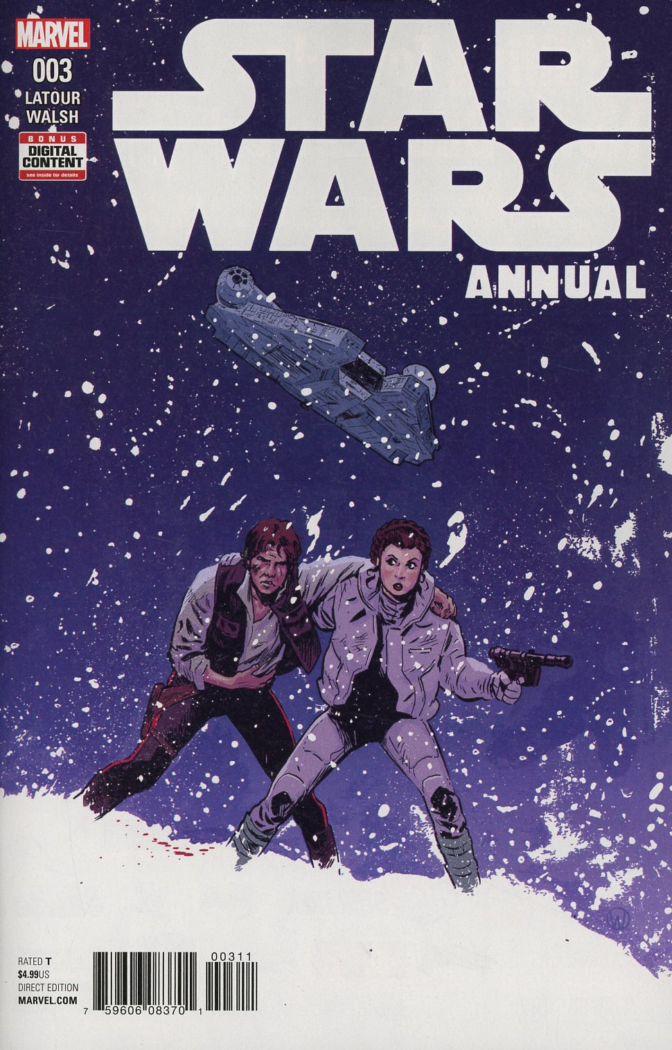 Star Wars Vol 4 Annual #3 Cover A Regular Michael Walsh Cover