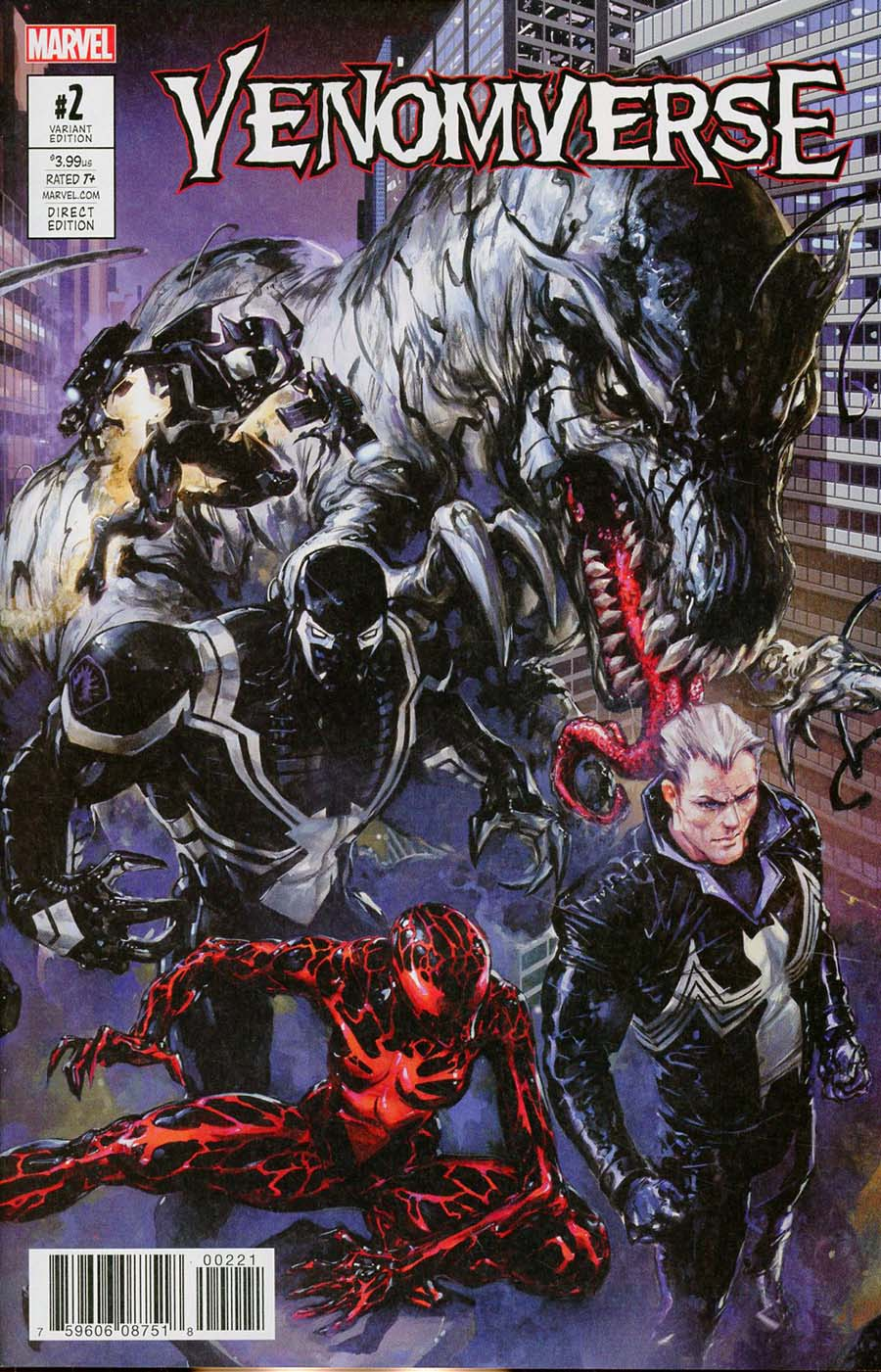 Venomverse #2 Cover B Variant Clayton Crain Connecting Cover