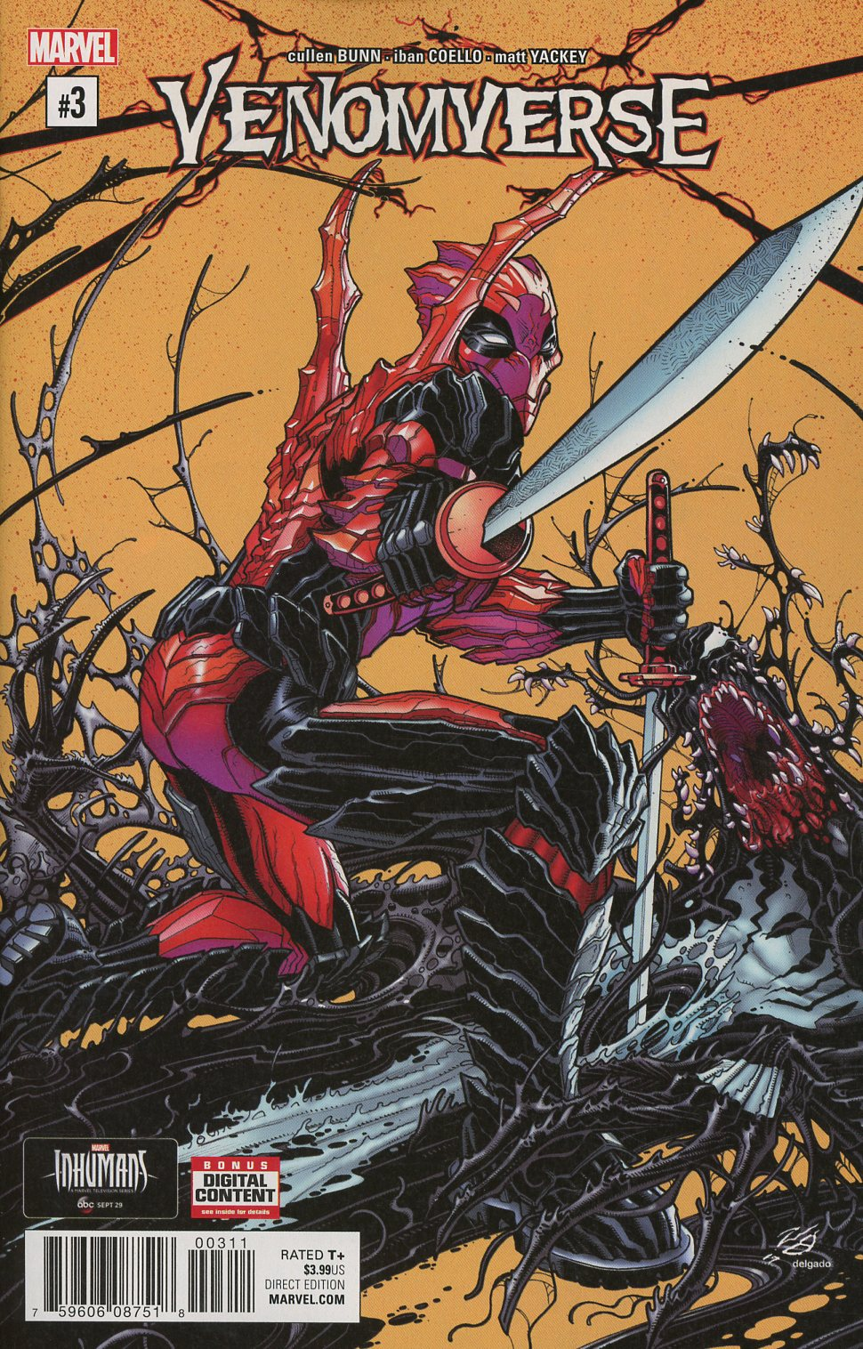 Venomverse #3 Cover A Regular Nick Bradshaw Cover