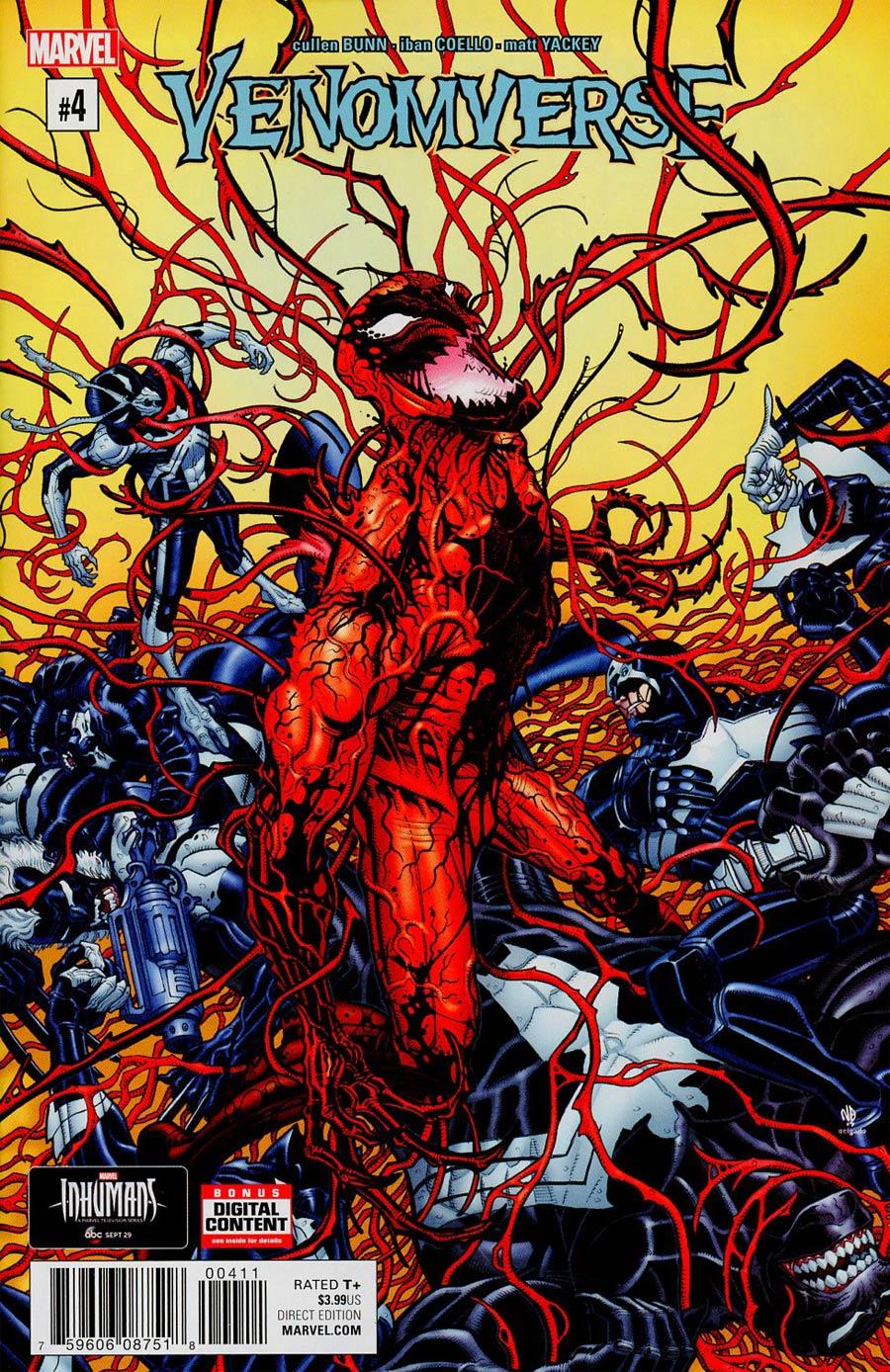 Venomverse #4 Cover A Regular Nick Bradshaw Cover