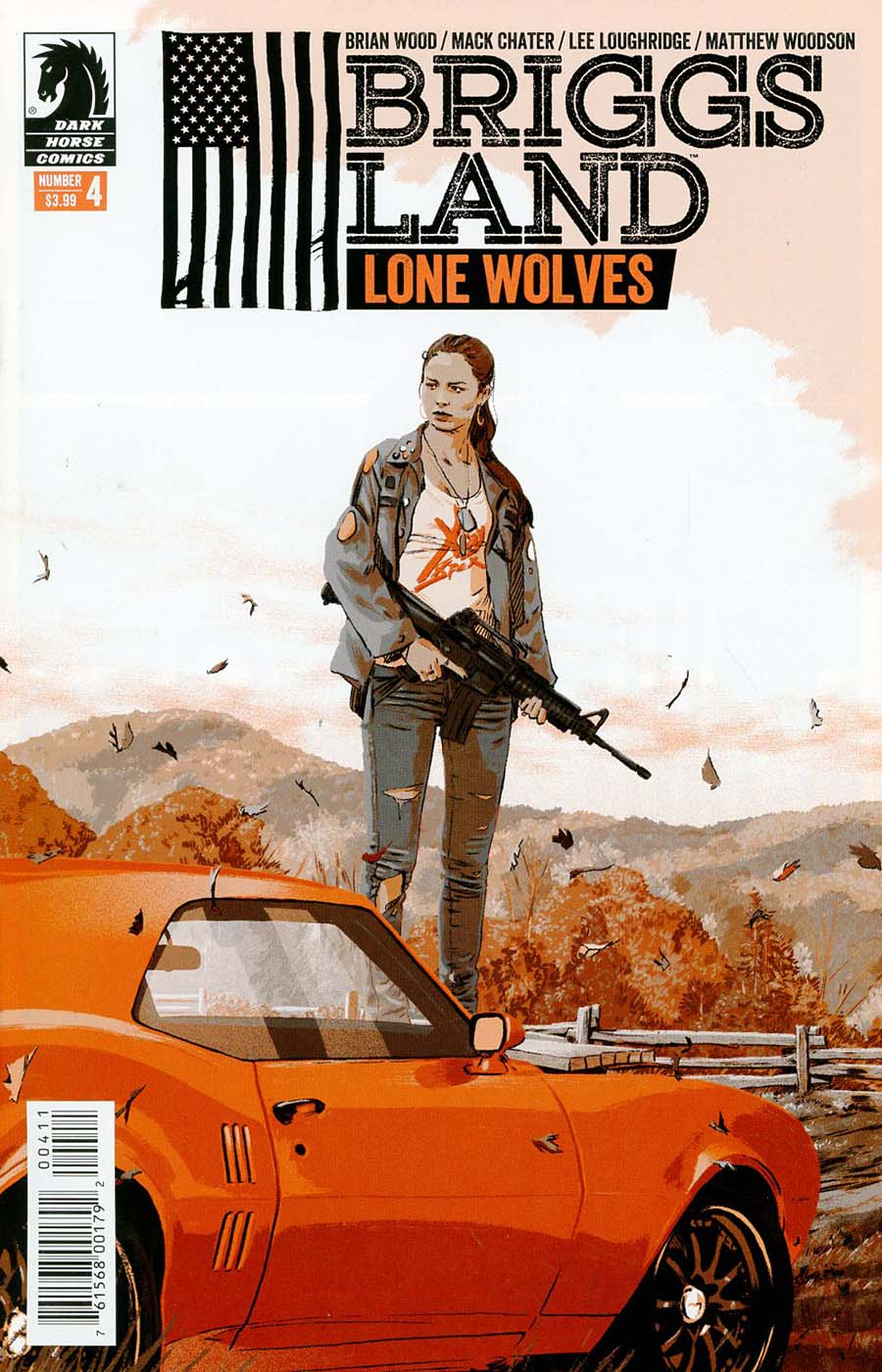 Briggs Land Lone Wolves #4 Cover A Regular Matthew Woodson Cover