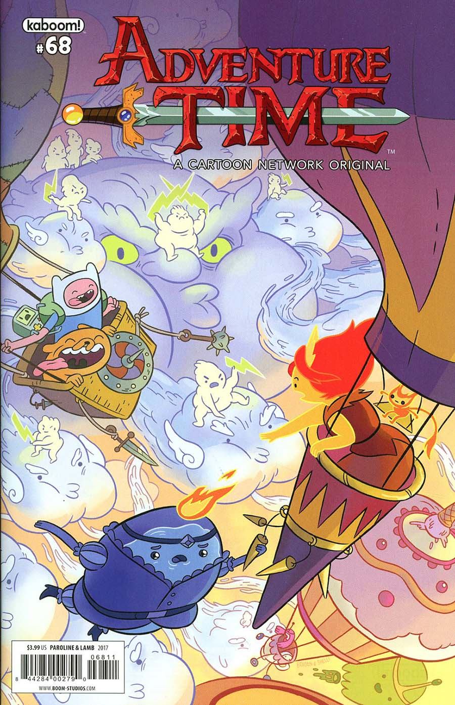 Adventure Time #68 Cover A Regular Shelli Paroline & Braden Lamb Cover