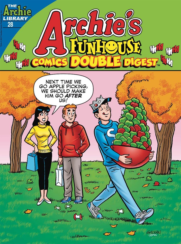 Archies Funhouse Comics Double Digest #28