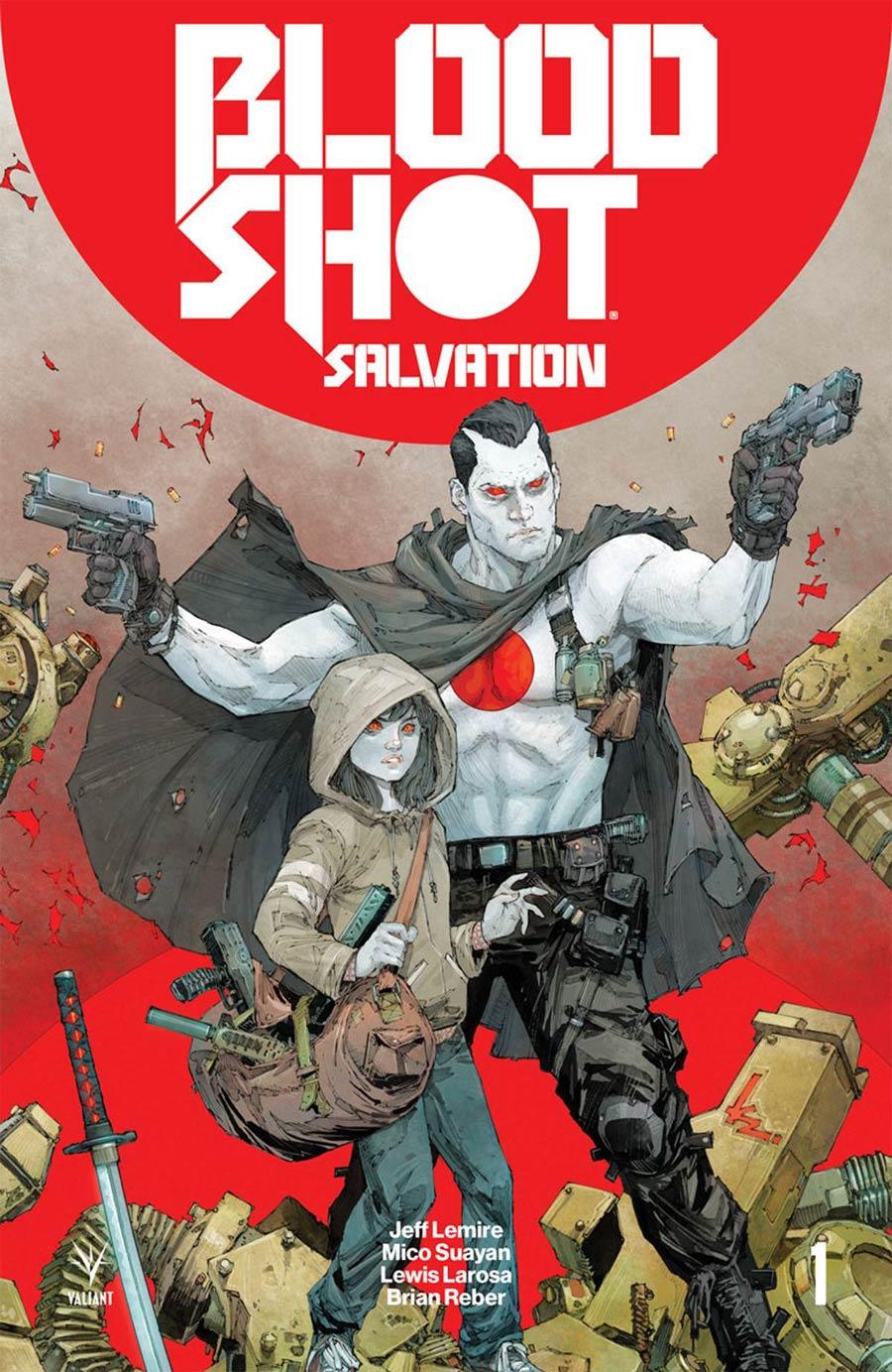 Bloodshot Salvation #1 Cover A 1st Ptg Regular Kenneth Rocafort Cover