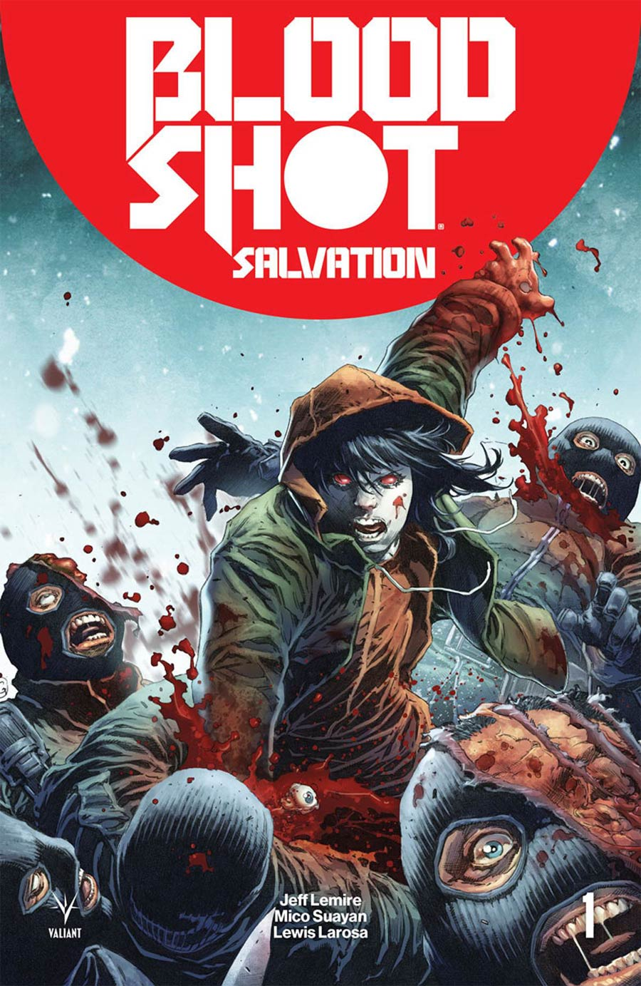 Bloodshot Salvation #1 Cover C Variant Tomas Giorello Battle Damaged Cover