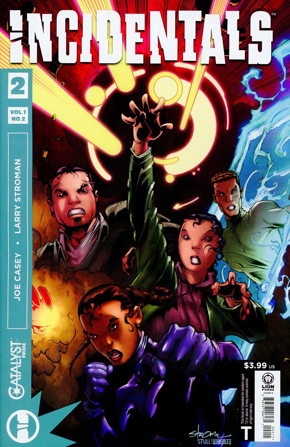 Catalyst Prime Incidentals #2 Cover A Regular Larry Stroman Cover