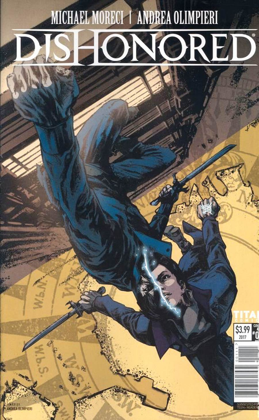 Dishonored Peeress And The Price #1 Cover A Regular Andrea Olimpieri Cover