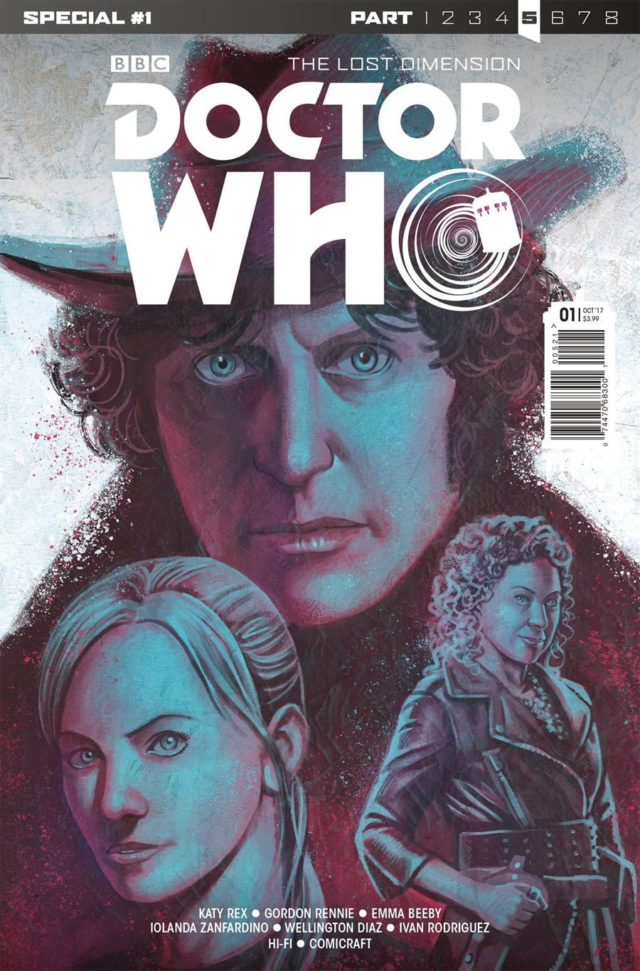Doctor Who Lost Dimension Special #1 Cover A Regular Mariano Laclaustra Cover (The Lost Dimension Part 5)