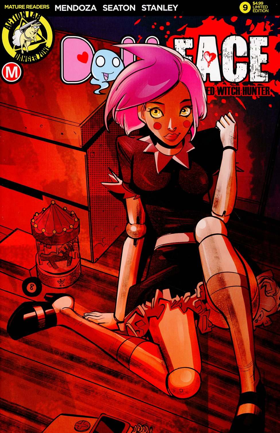 Dollface #9 Cover E Variant Celor Pin-Up Cover