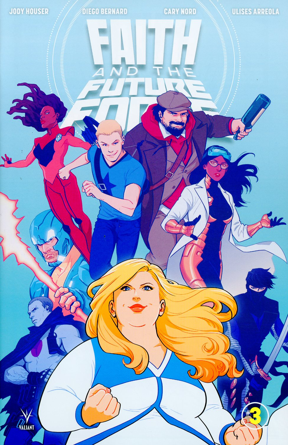 Faith And The Future Force #3 Cover A Regular Audrey Mok Cover