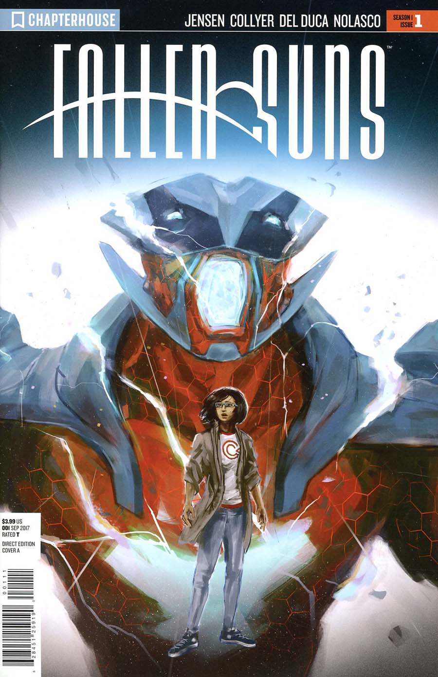 Fallen Suns #1 Cover A Regular Miko Maclaszek Cover