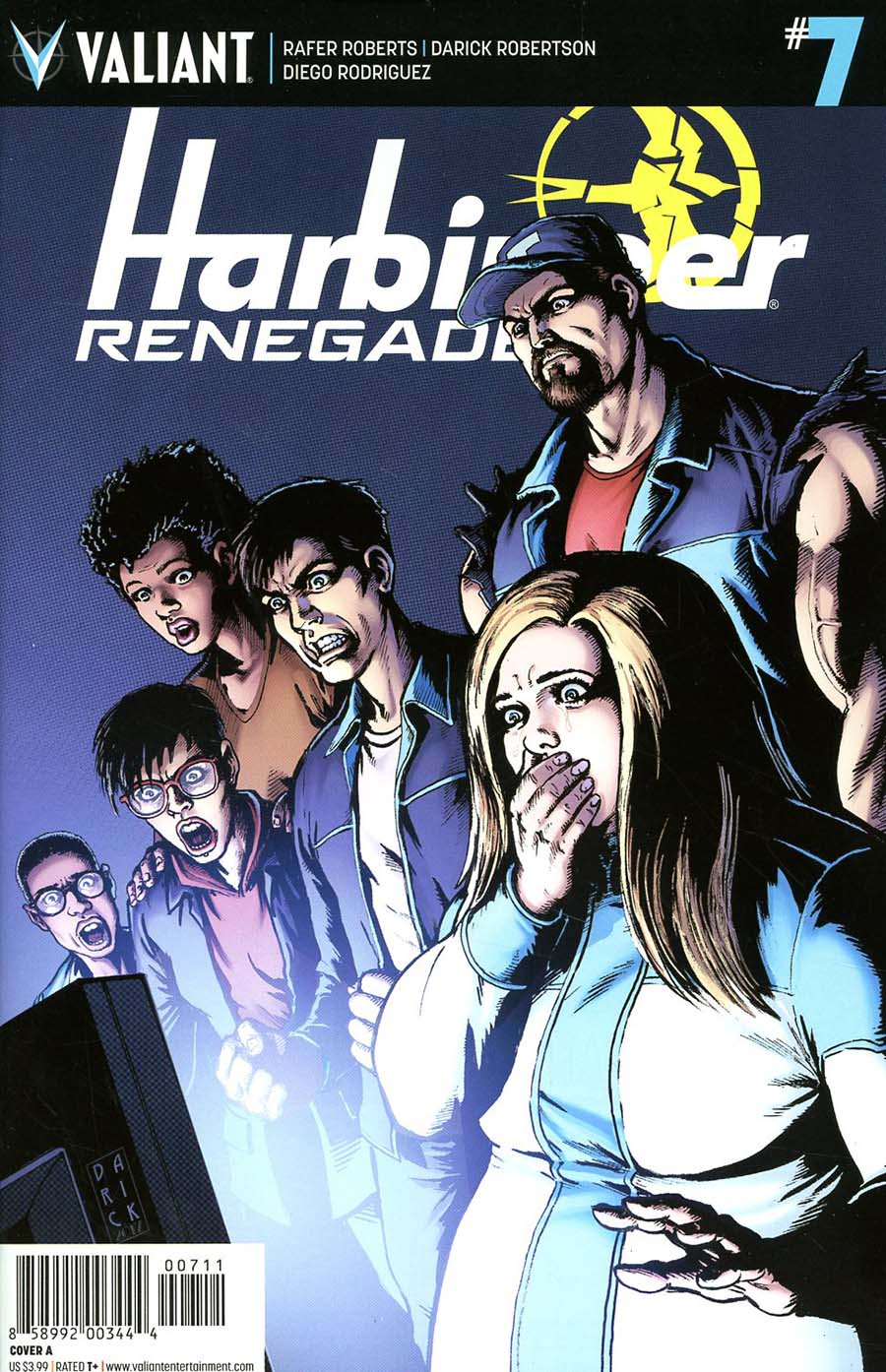 Harbinger Renegade #7 Cover A Regular Darick Robertson Cover