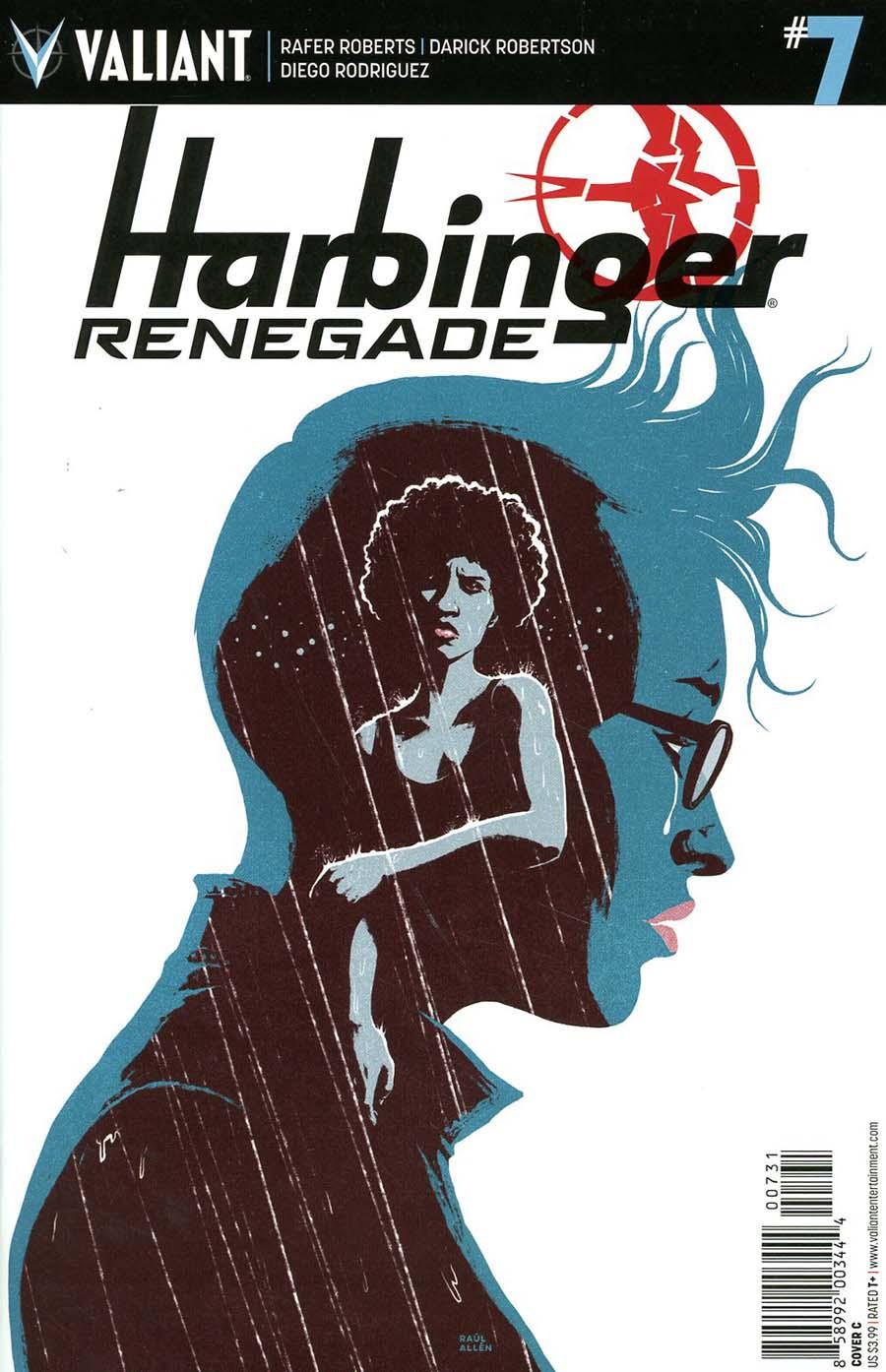 Harbinger Renegade #7 Cover C Variant Raul Allen Cover