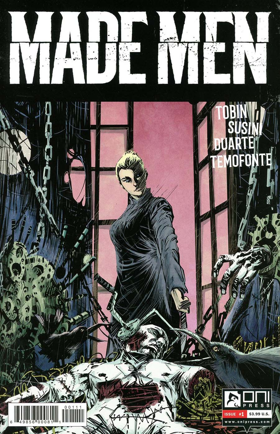 Made Men #1 Cover A Regular Gonzalo Duarte Cover