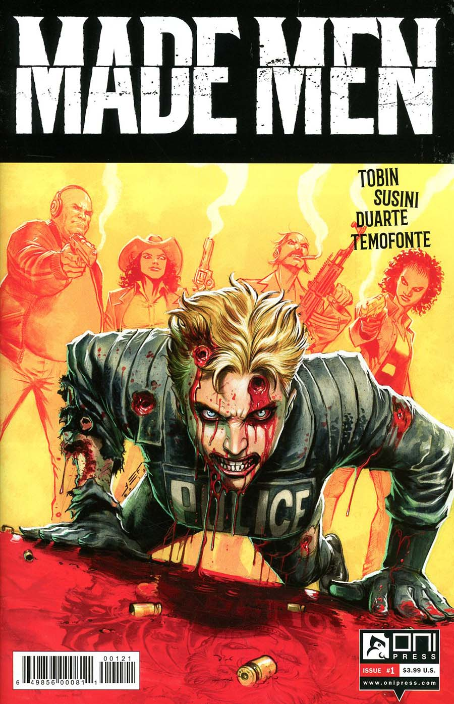Made Men #1 Cover B Variant Juan Ferreyra Cover