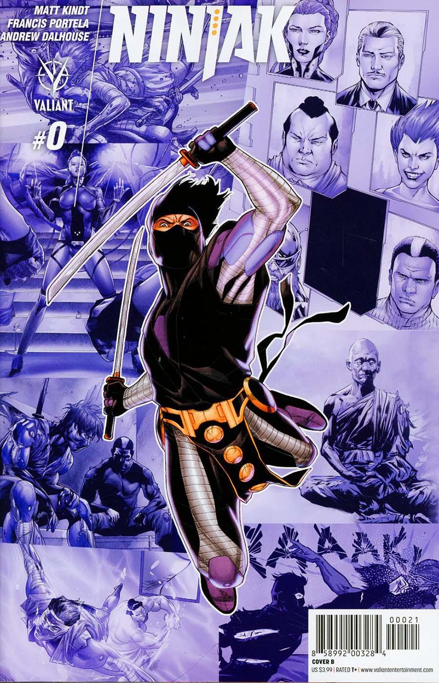 Ninjak Vol 3 #0 Cover B Variant Clayton Henry Cover