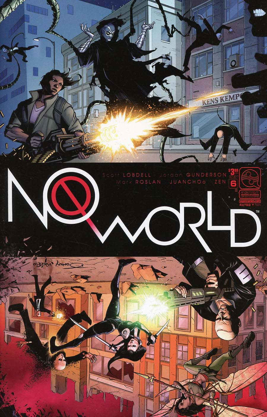 No World #6 Cover B Variant Donny Tran Cover
