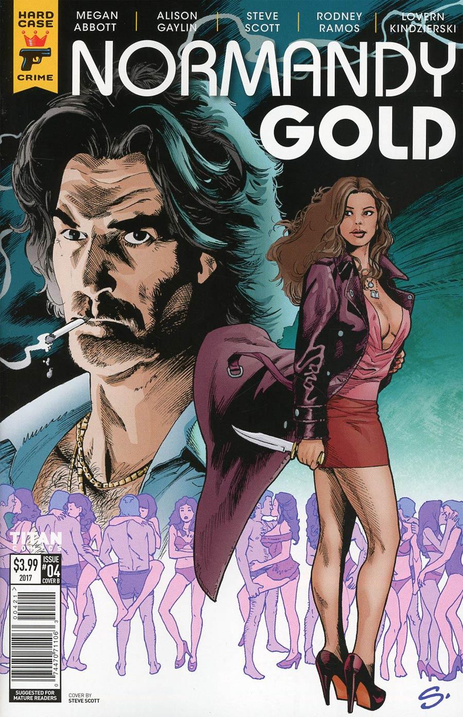 Hard Case Crime Normandy Gold #4 Cover B Variant Steve Scott & Lovern Kindzierski Cover
