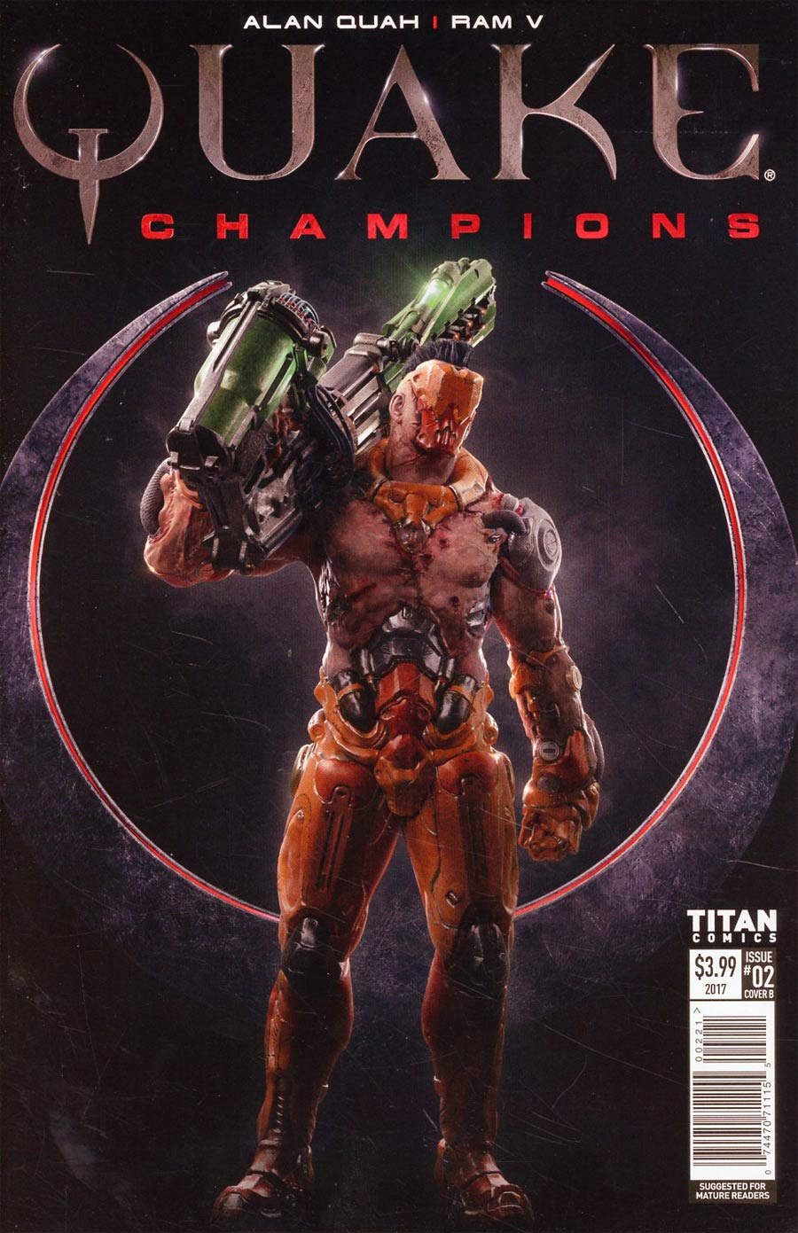 Quake Champions #2 Cover B Variant Video Game Art Cover