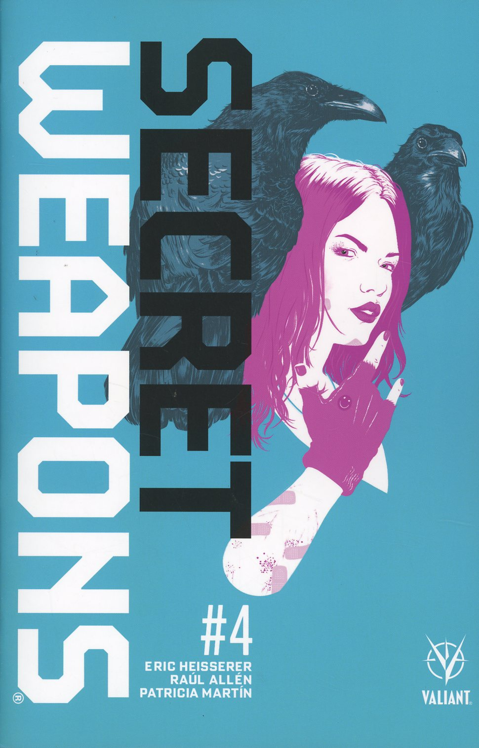 Secret Weapons Vol 2 #4 Cover A Regular Raul Allen Cover
