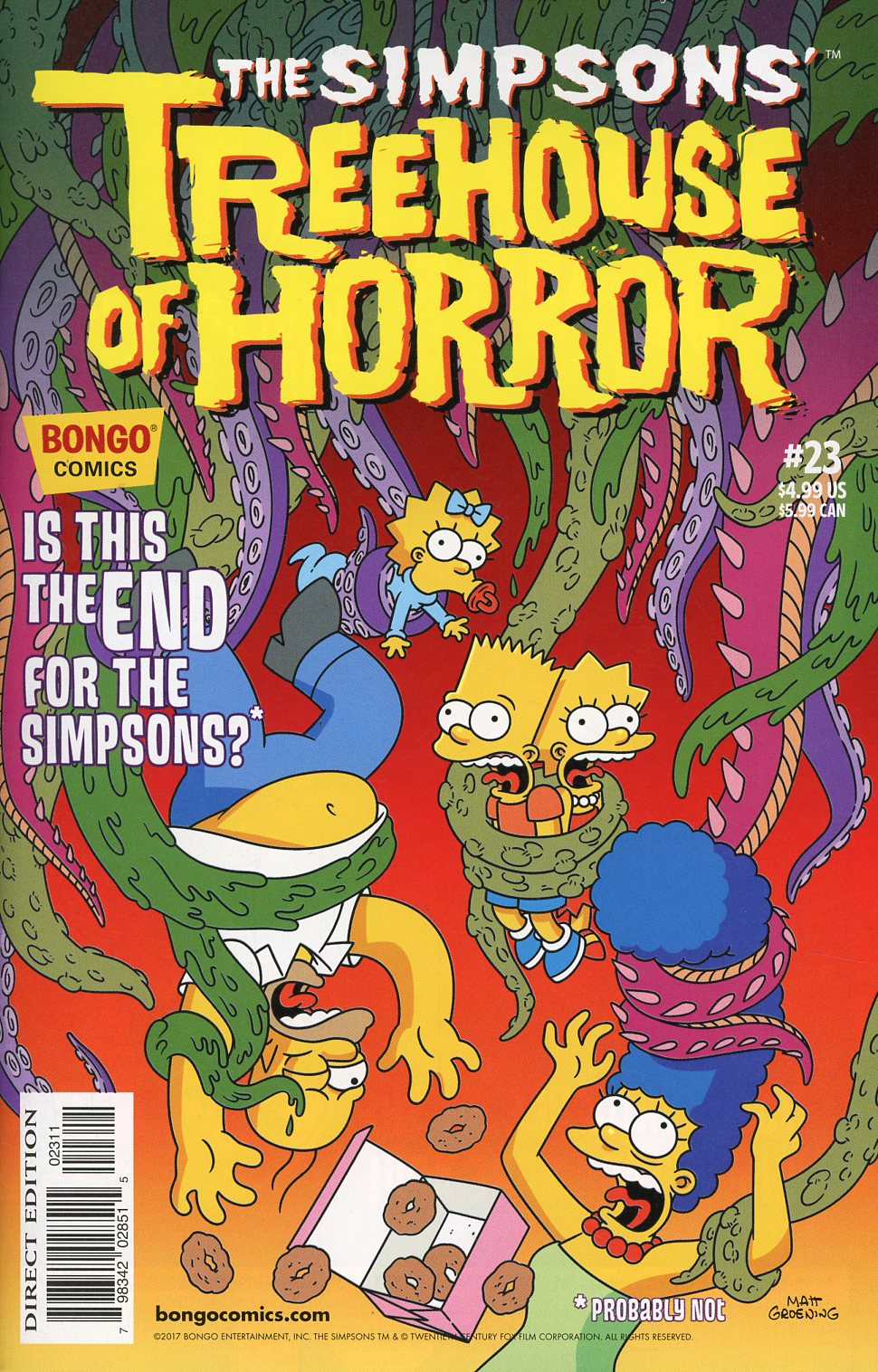 Simpsons Treehouse Of Horror #23
