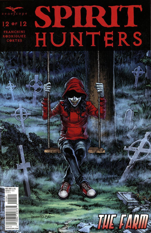 Spirit Hunters #12 Cover D Harvey Tolibao