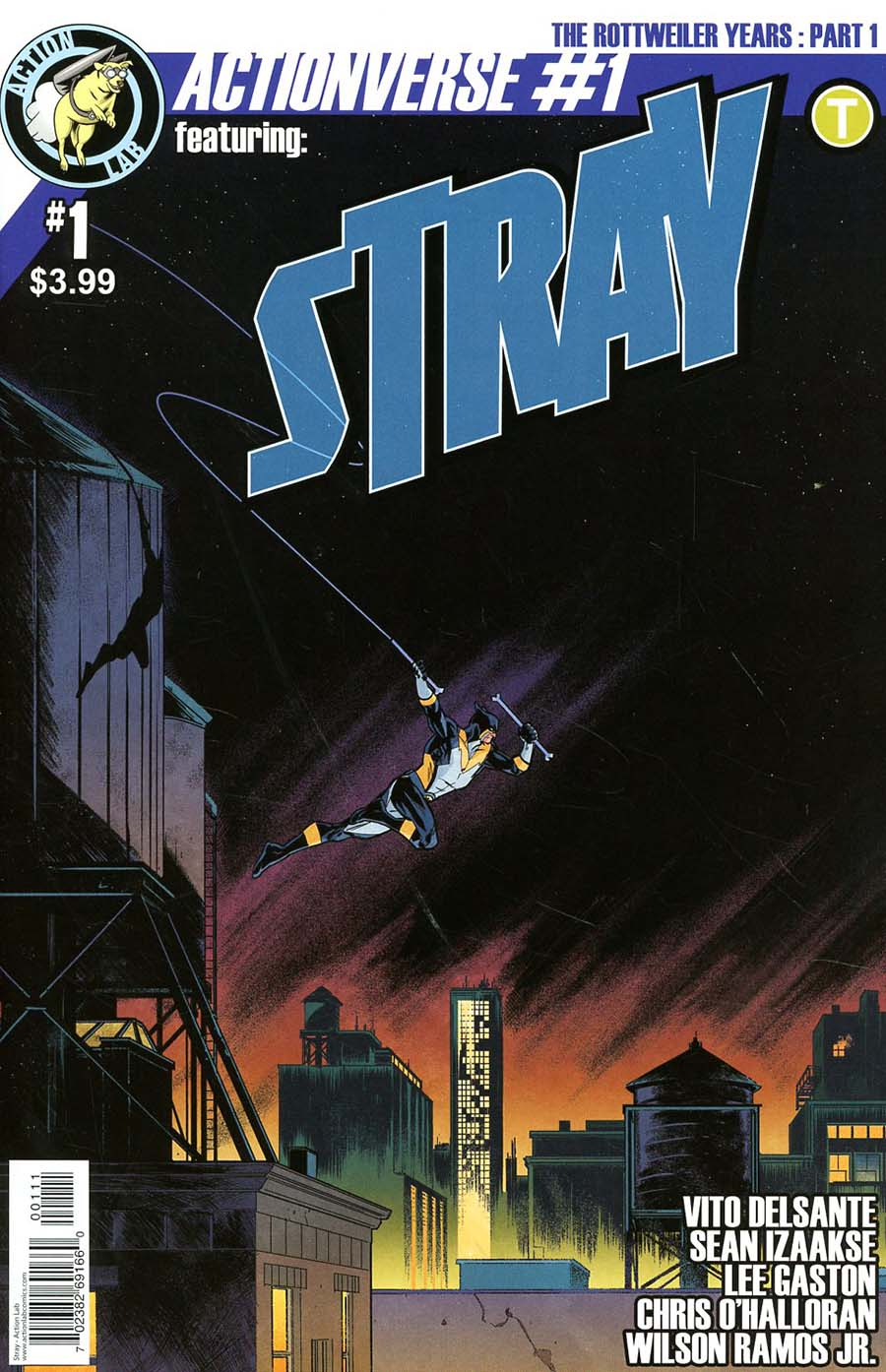 Actionverse Vol 2 #1 Stray Cover A Regular Sean Izaakse Cover