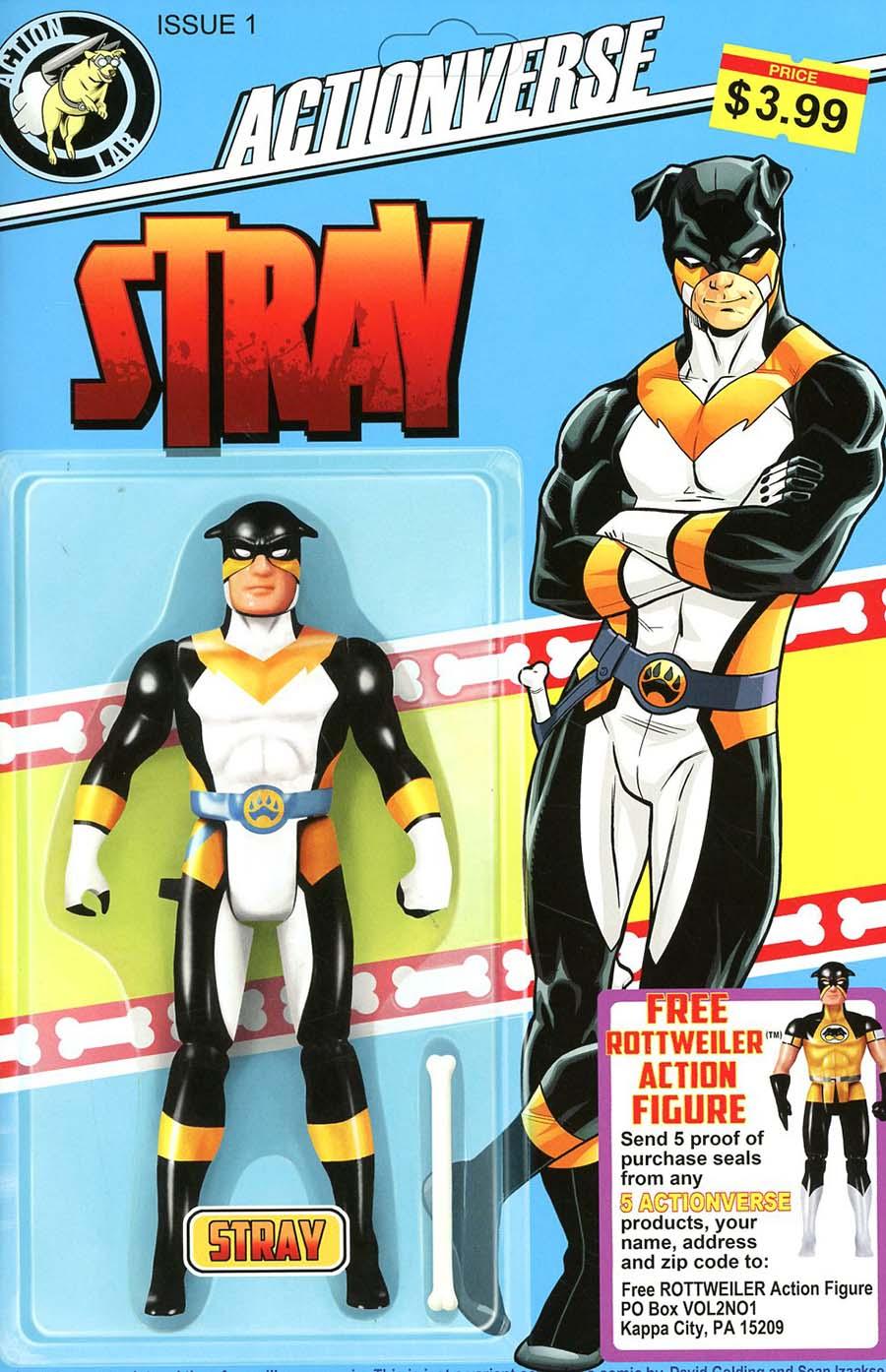 Actionverse Vol 2 #1 Stray Cover B Variant David Golding Cover