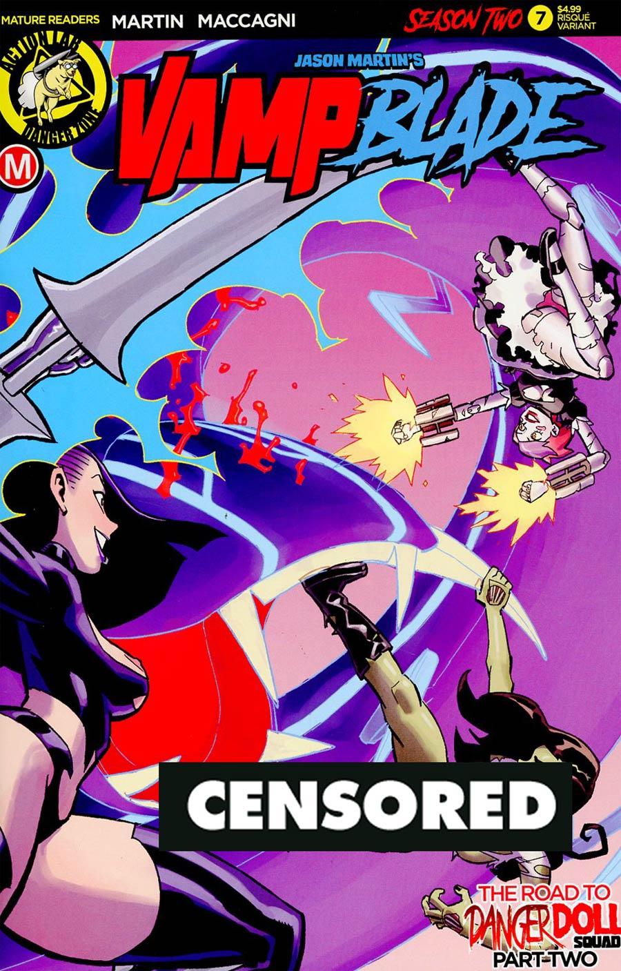 Vampblade Season 2 #7 Cover B Variant Winston Young Risque Cover