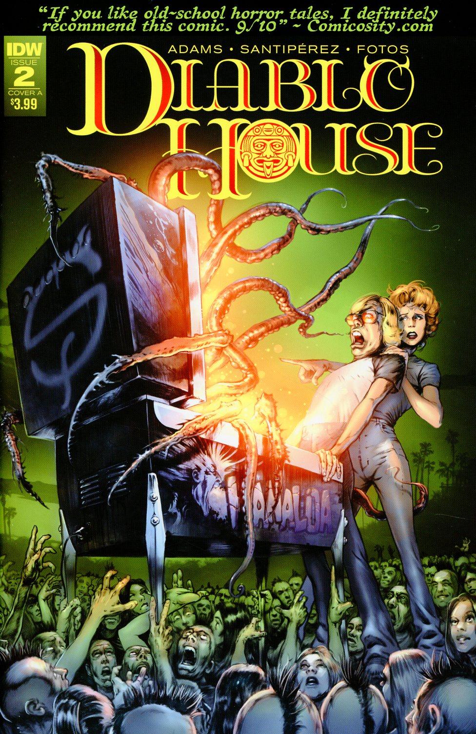 Diablo House #2 Cover A Regular Santiperez Cover