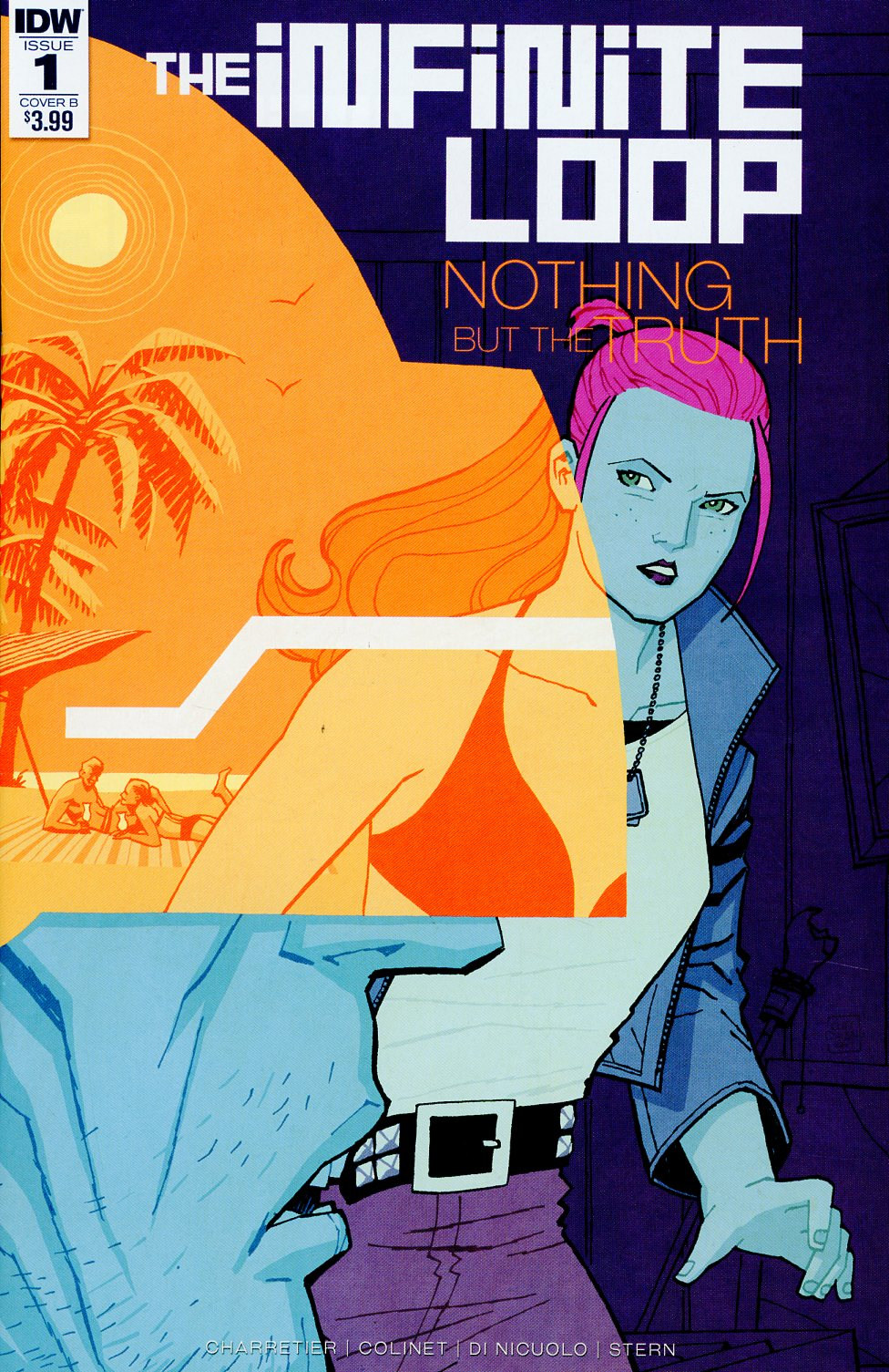 Infinite Loop Nothing But The Truth #1 Cover B Variant Cliff Chiang Cover