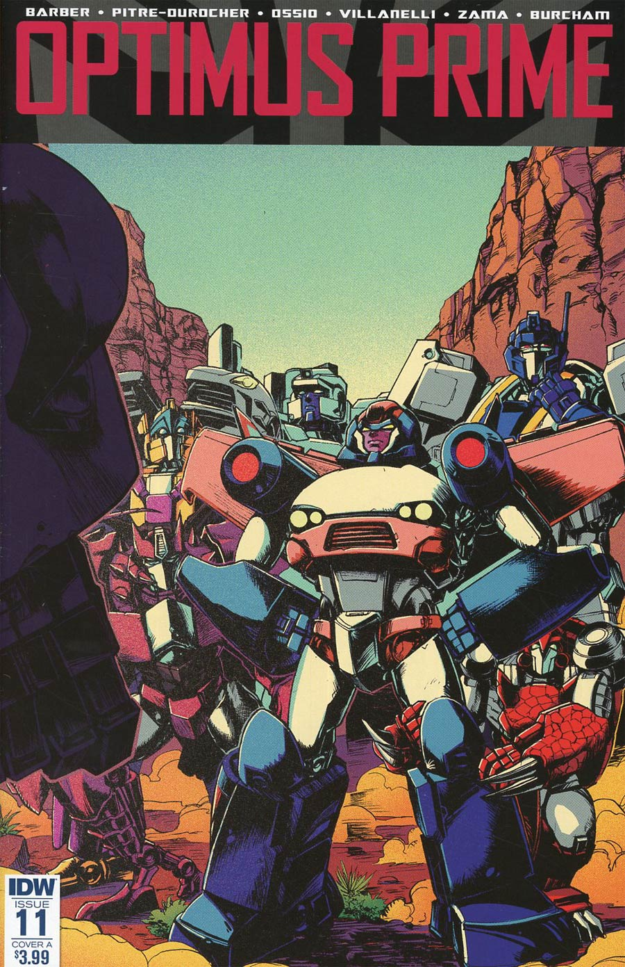 Optimus Prime #11 Cover A Regular Kei Zama Cover