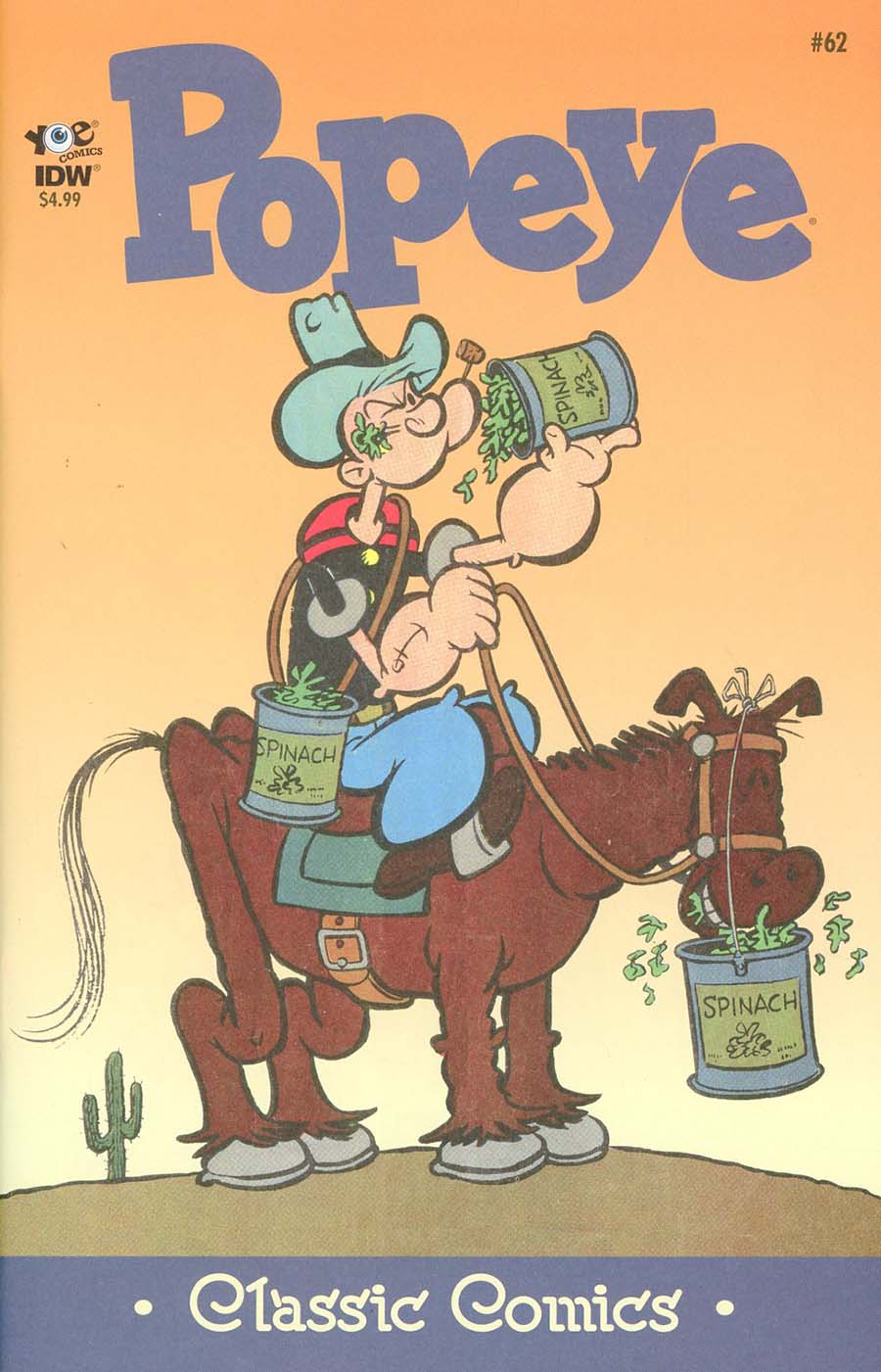 Classic Popeye #62 Cover A Regular Bud Sagendorf Cover