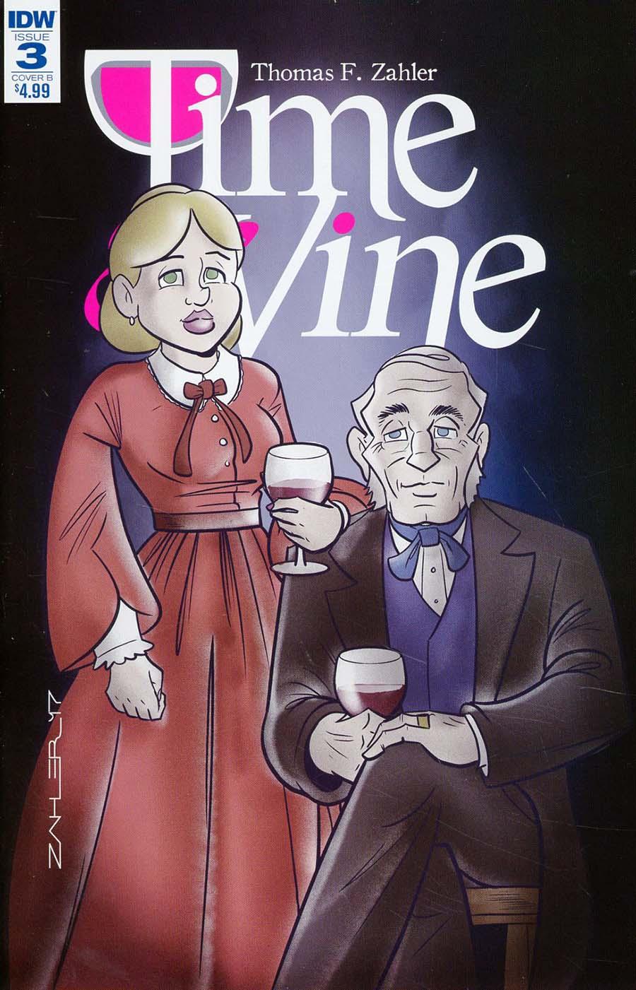 Time & Vine #3 Cover B Variant Thom Zahler Cover