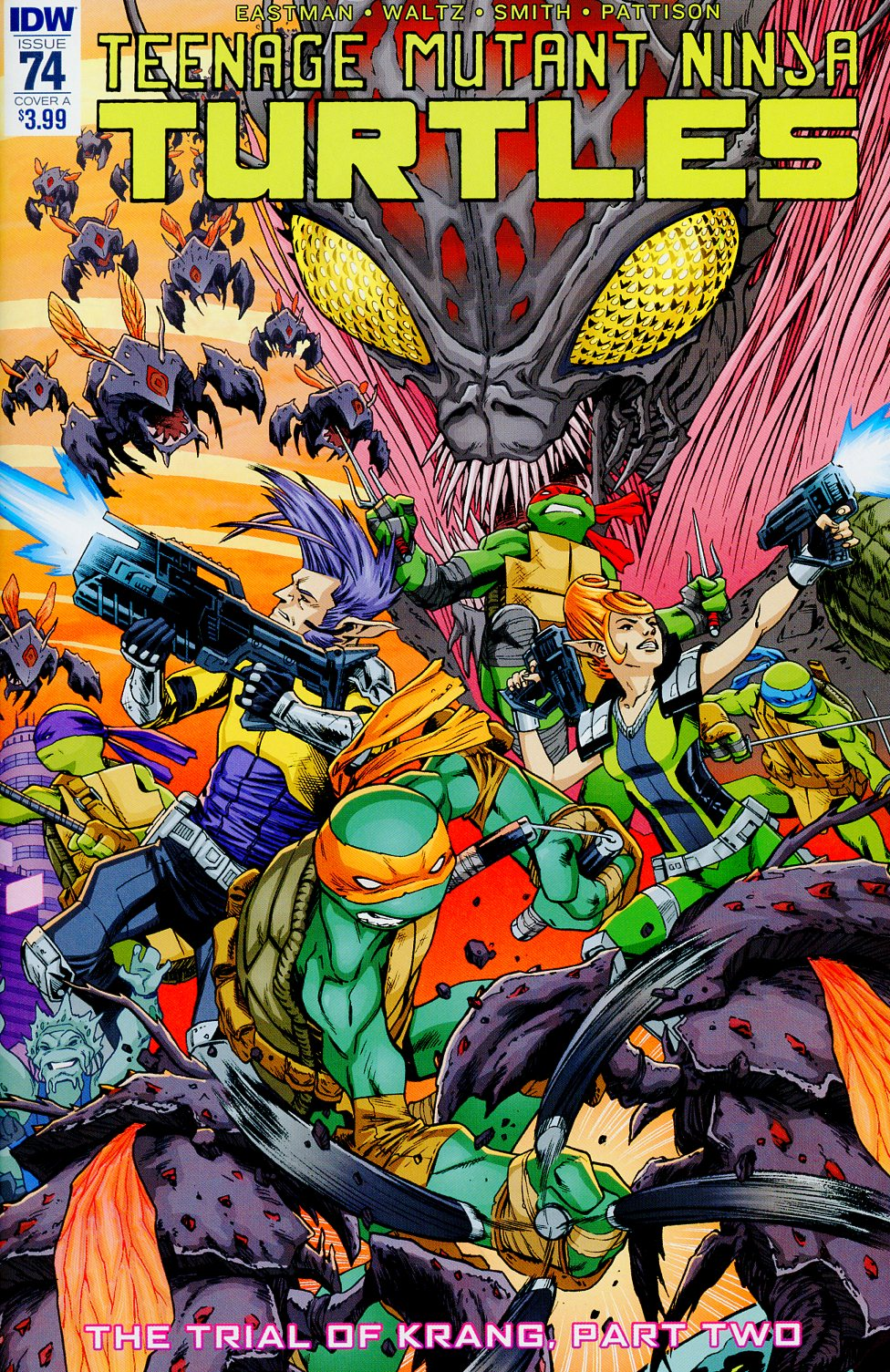Teenage Mutant Ninja Turtles Vol 5 #74 Cover A Regular Cory Smith Cover