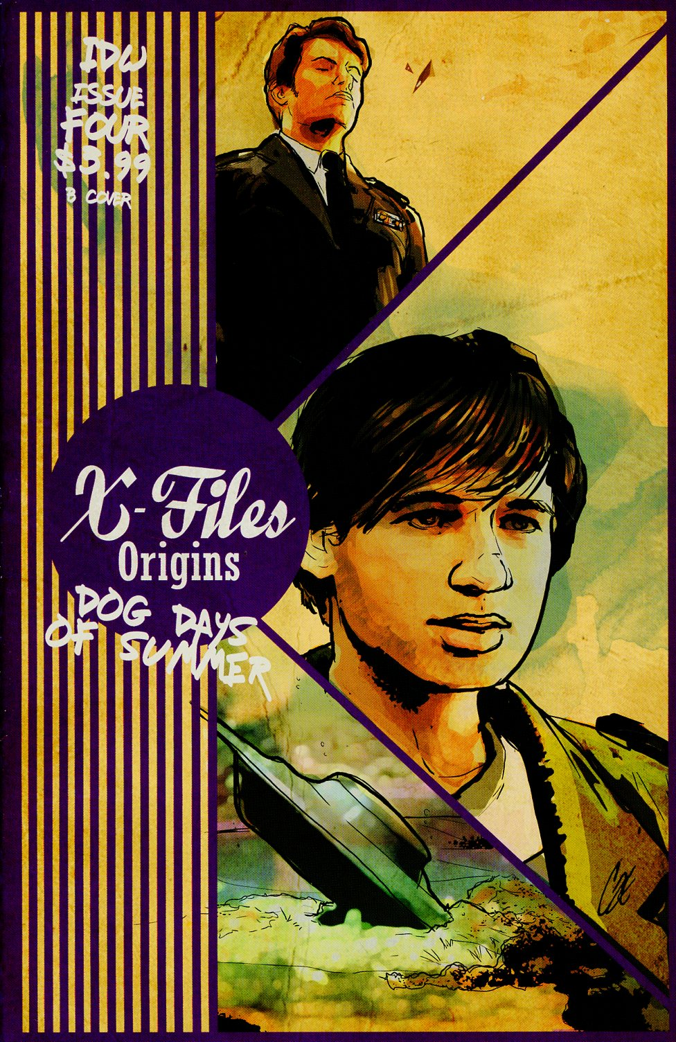 X-Files Origins II Dog Days Of Summer #4 Cover B Variant Cat Staggs Cover